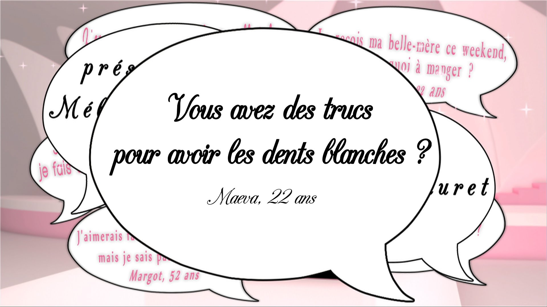 Des dents banches facilement