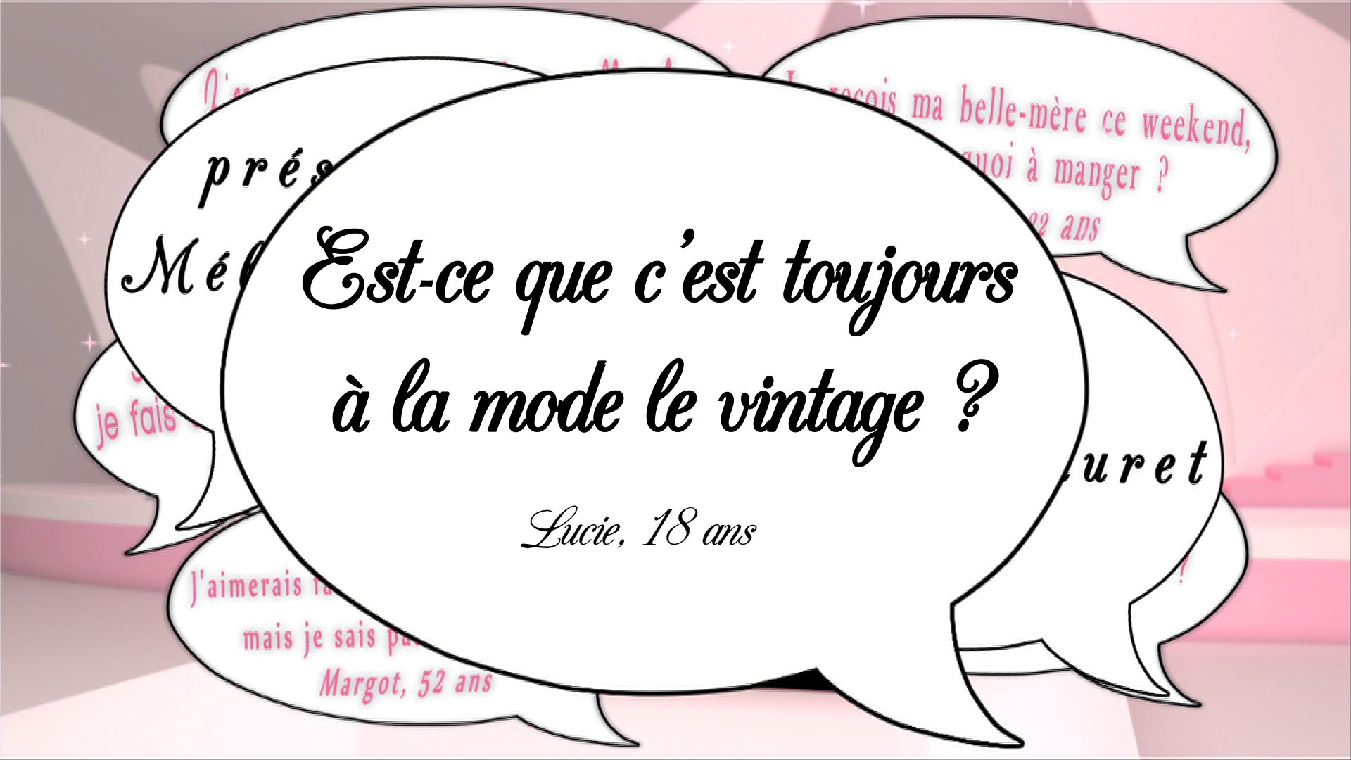 Le vintage, authenticité ou copie ? Secrets de filles