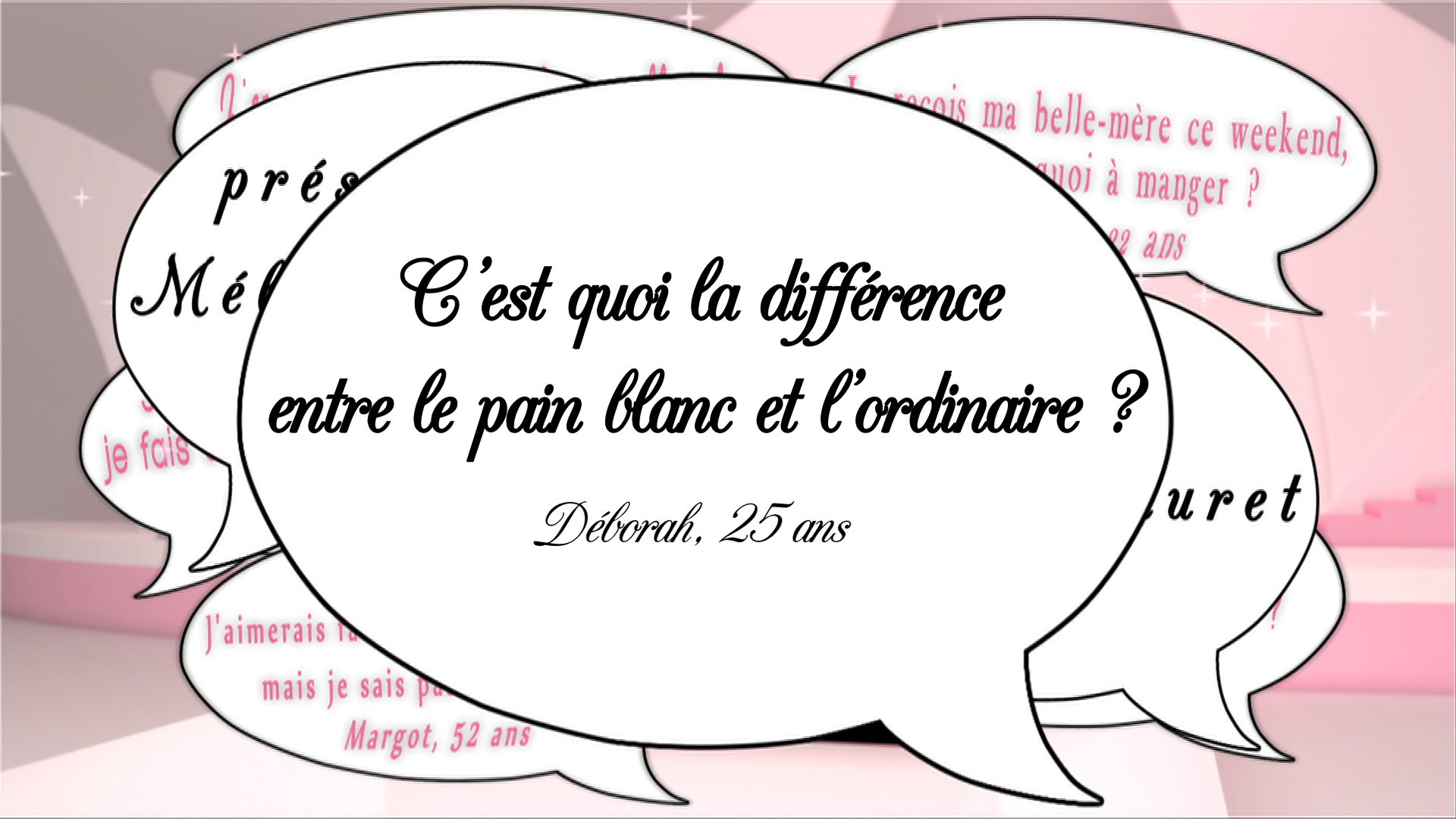 Pain blanc ou ordinaire ?