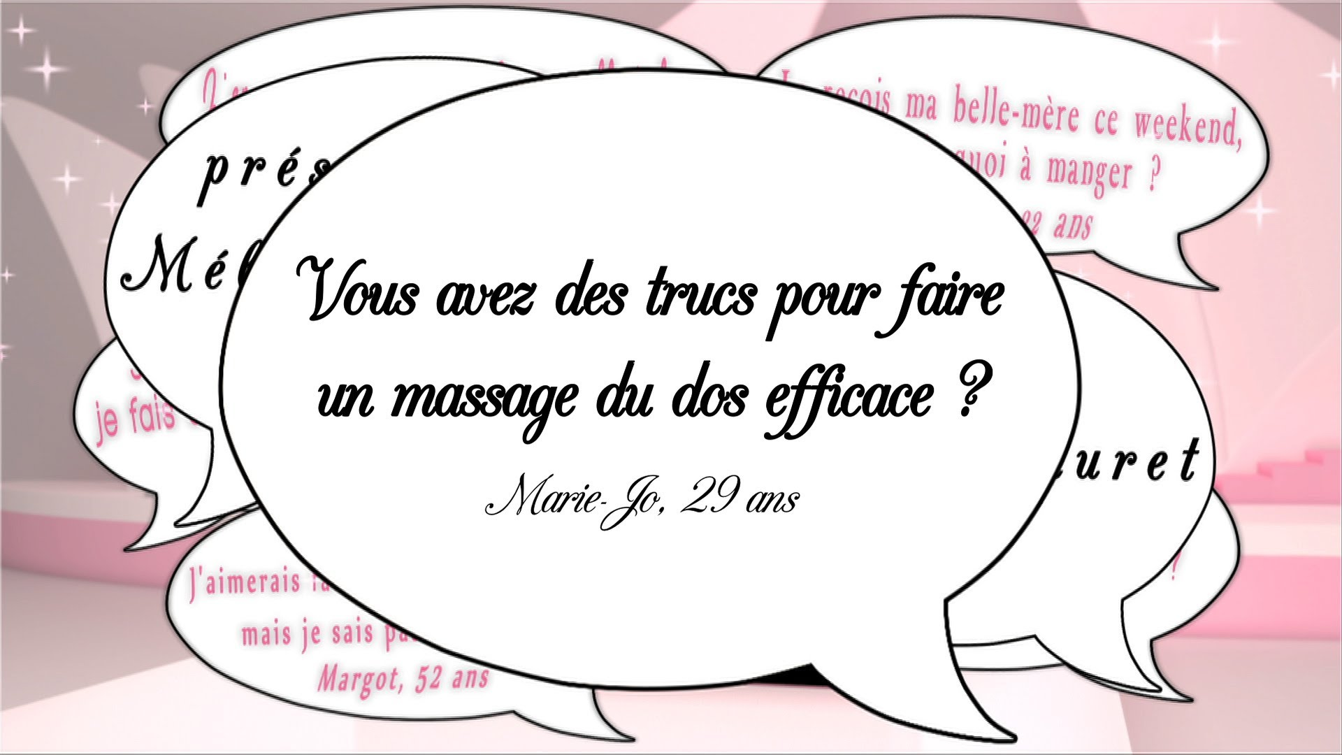 Un massage efficace